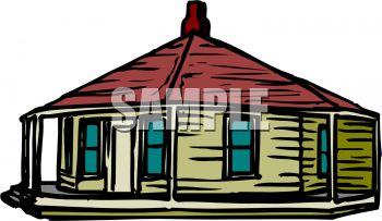Round Yurt Style House.