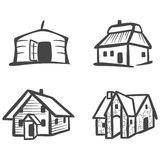 Mongolian Yurt Stock Illustrations.