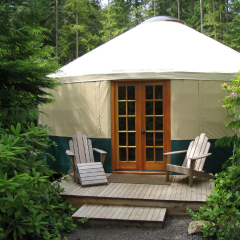 The Ultimate Yurt.