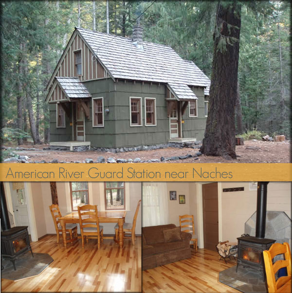 Rustic Retreats: Cabins and Yurts for Rent in Washington.