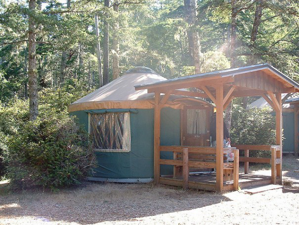 Best Yurt Camping Spots in Washington State.
