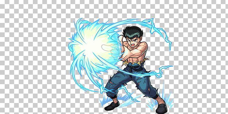 Yusuke Urameshi Monster Strike Kurama Hiei Kazuma Kuwabara.