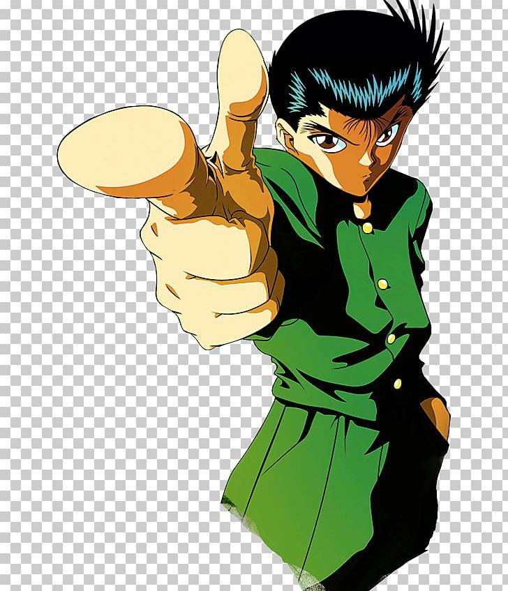 Yusuke Urameshi Hiei Kazuma Kuwabara Kurama Yu Yu Hakusho: Spirit.