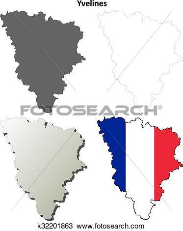 Clipart of Yvelines, Ile.