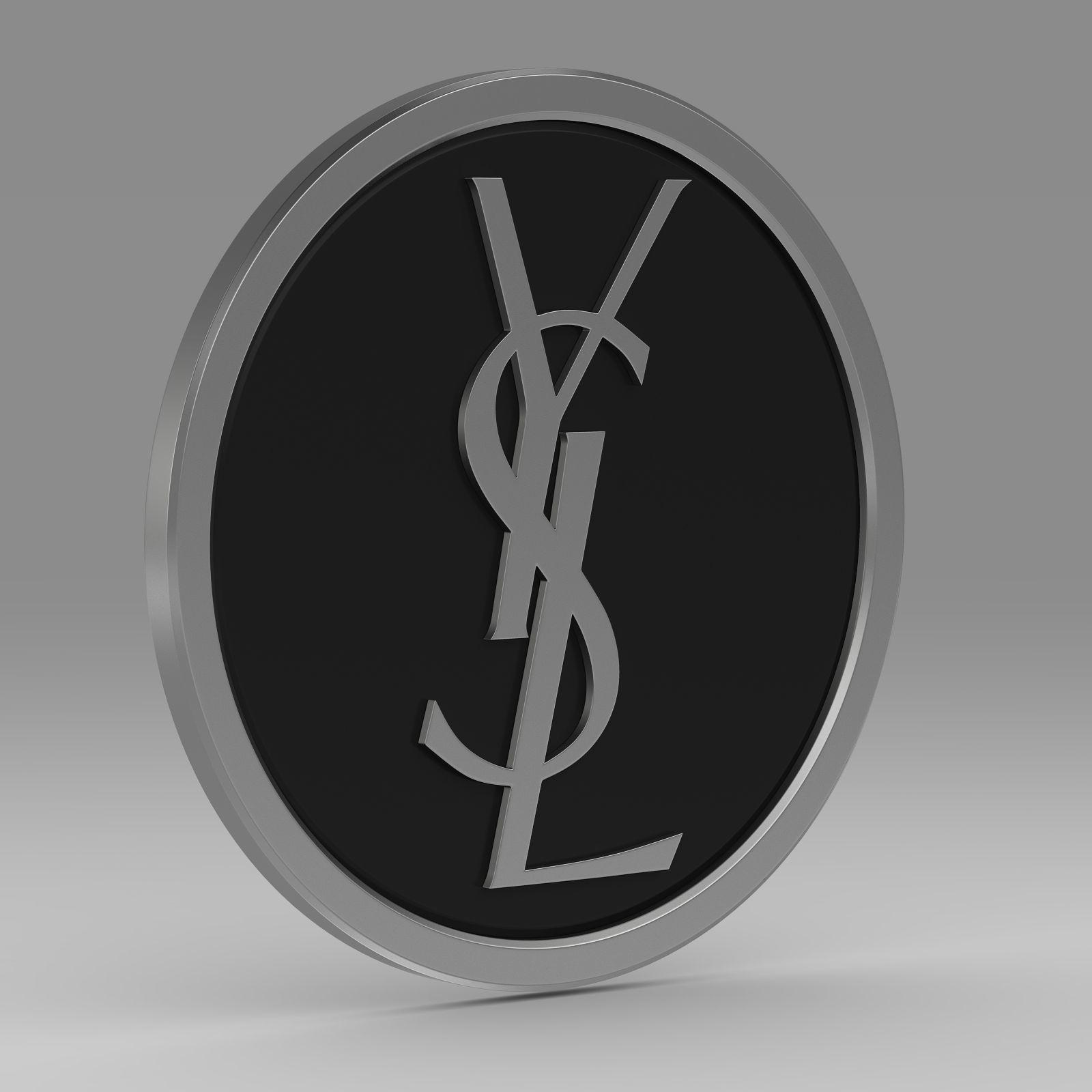 Yves Saint Laurent logo 2.