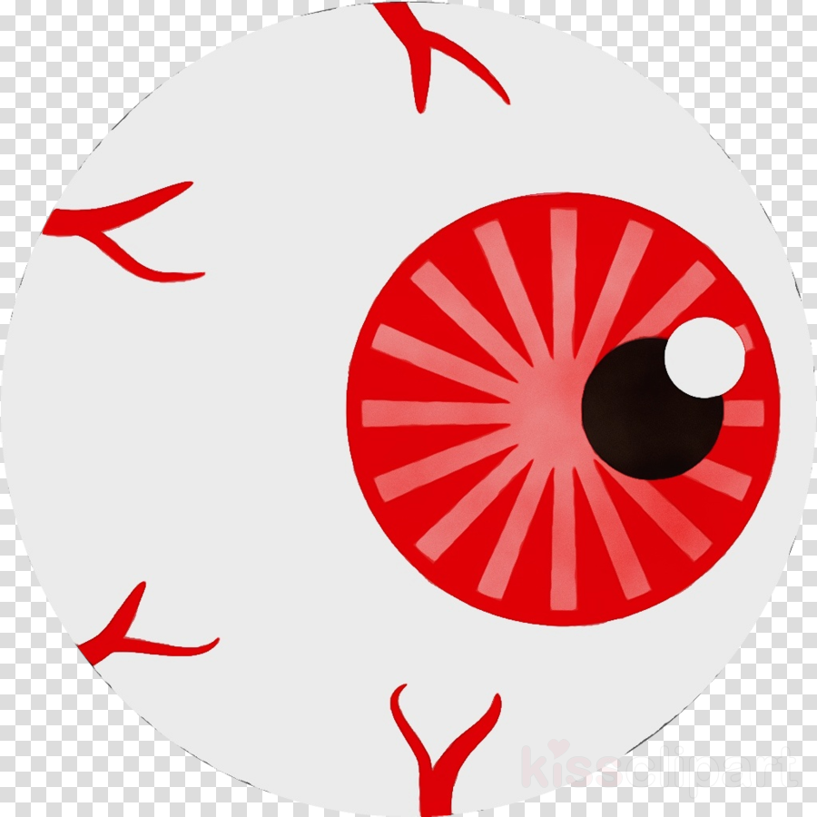 red eye circle symbol logo clipart.