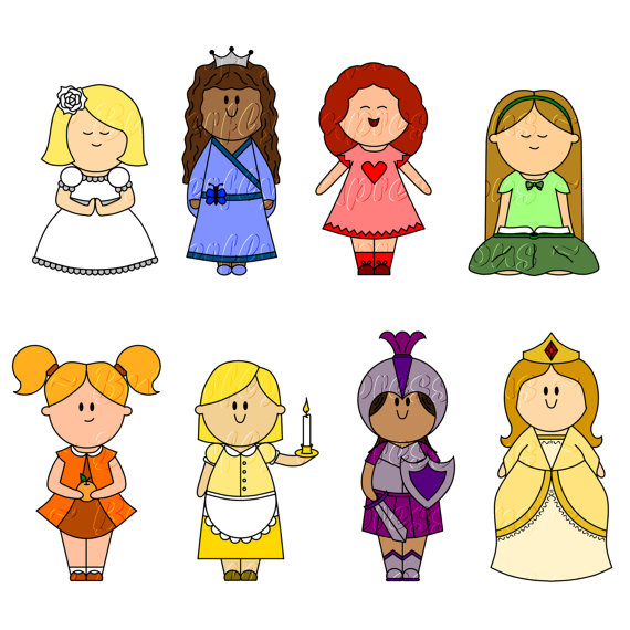 Lds Young Women Clipart.