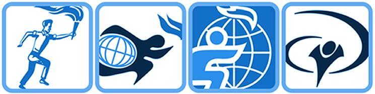 YWAM Logo Progression in 2019.