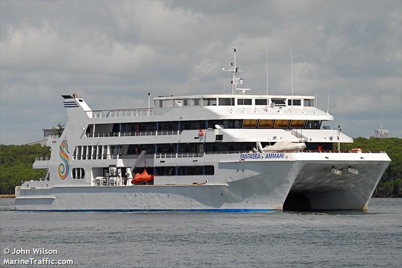 Vessel details for: YWAM PNG (Passenger Ship).
