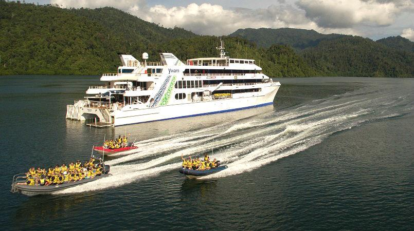 MV YWAM PNG is coming home.