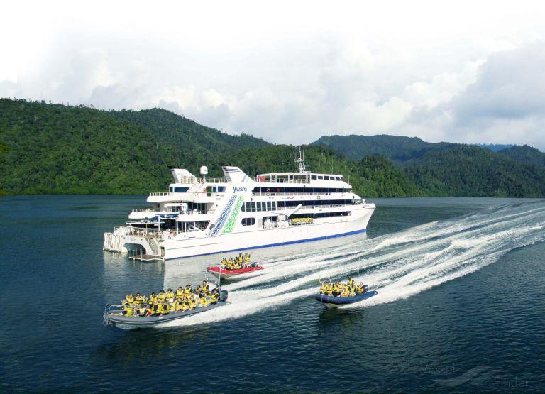 YWAM PNG, Passenger (Cruise) Ship.
