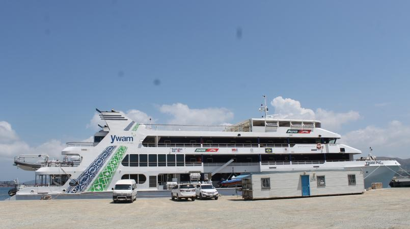Puma Energy supplies fuel for medical ship.
