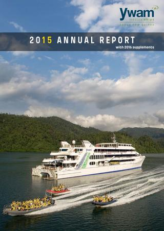 YWAM Medical Ships Annual Report 2015 by YWAM MSA.