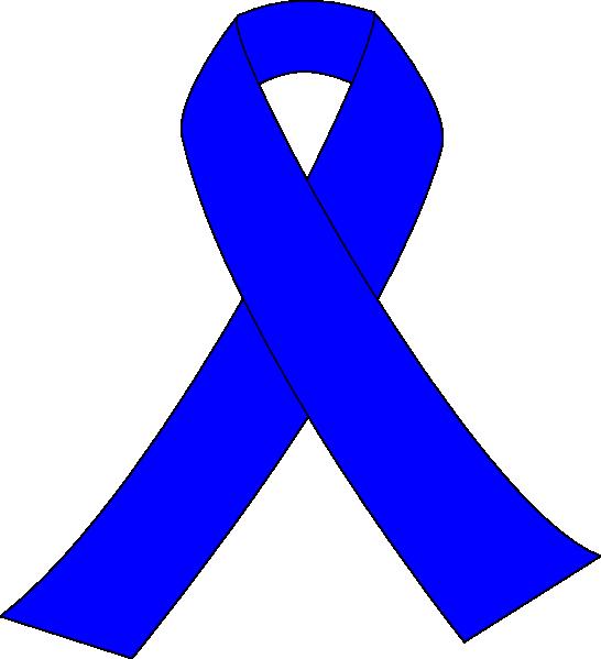 Blue Awareness Ribbon Clip Art at Clker.com.