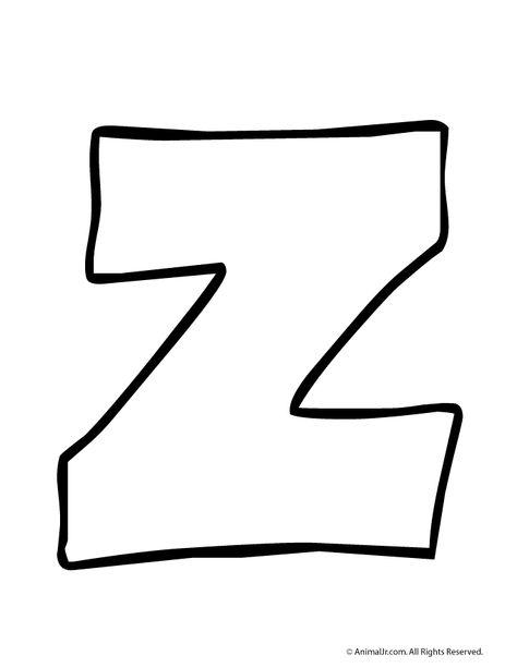 Bubble Letter Z.