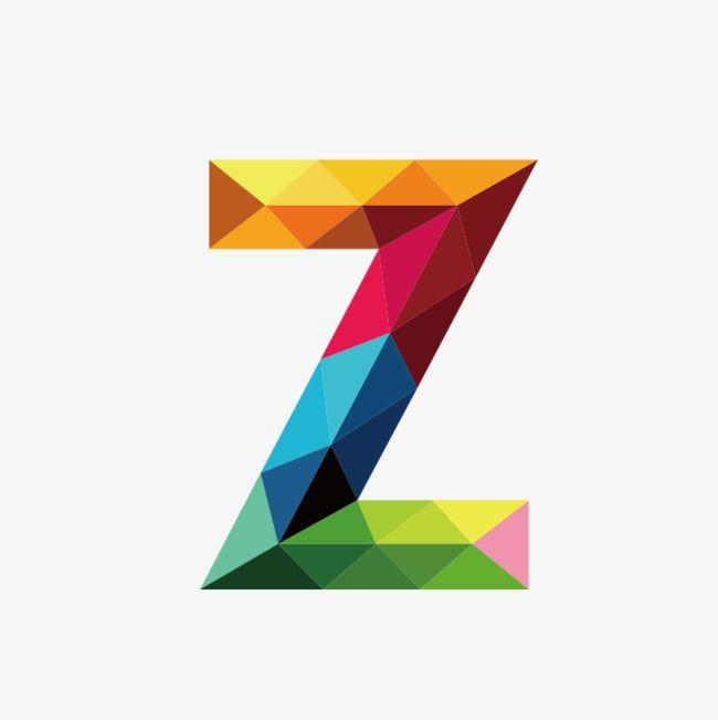 Colorful Letters Z, Colorful, Letter, Z PNG Transparent.