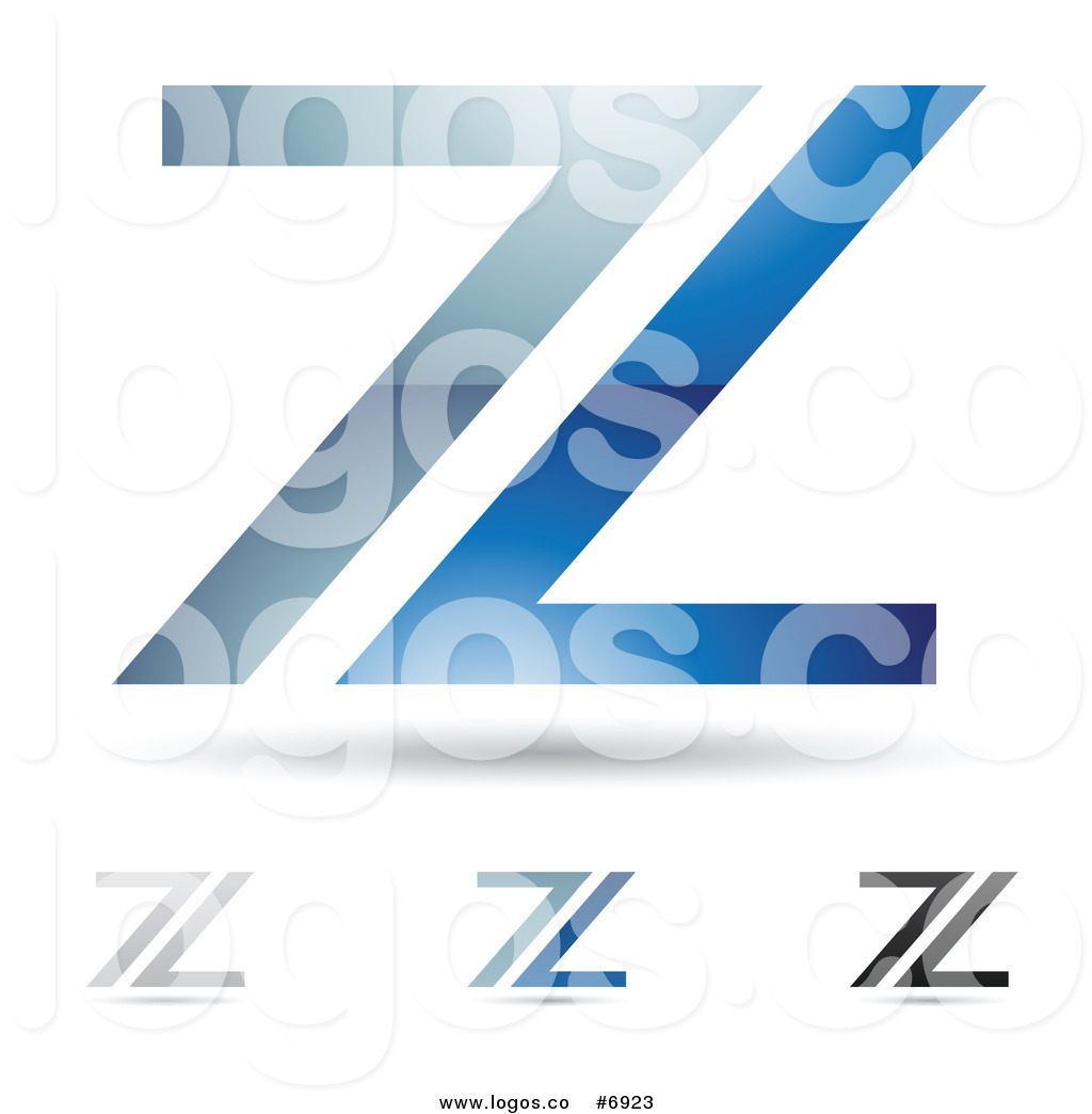 Royalty Free Clip Art Vector Logo of Abstract Letter Z.