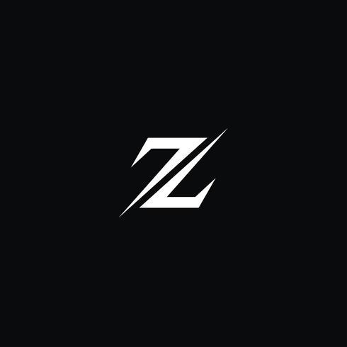 Creative letter Z logo concept design templates.