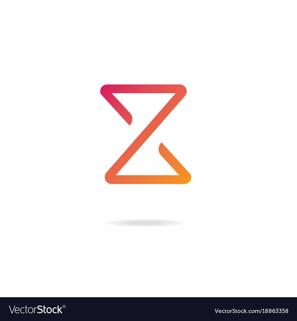 Letter z logo design template elements.
