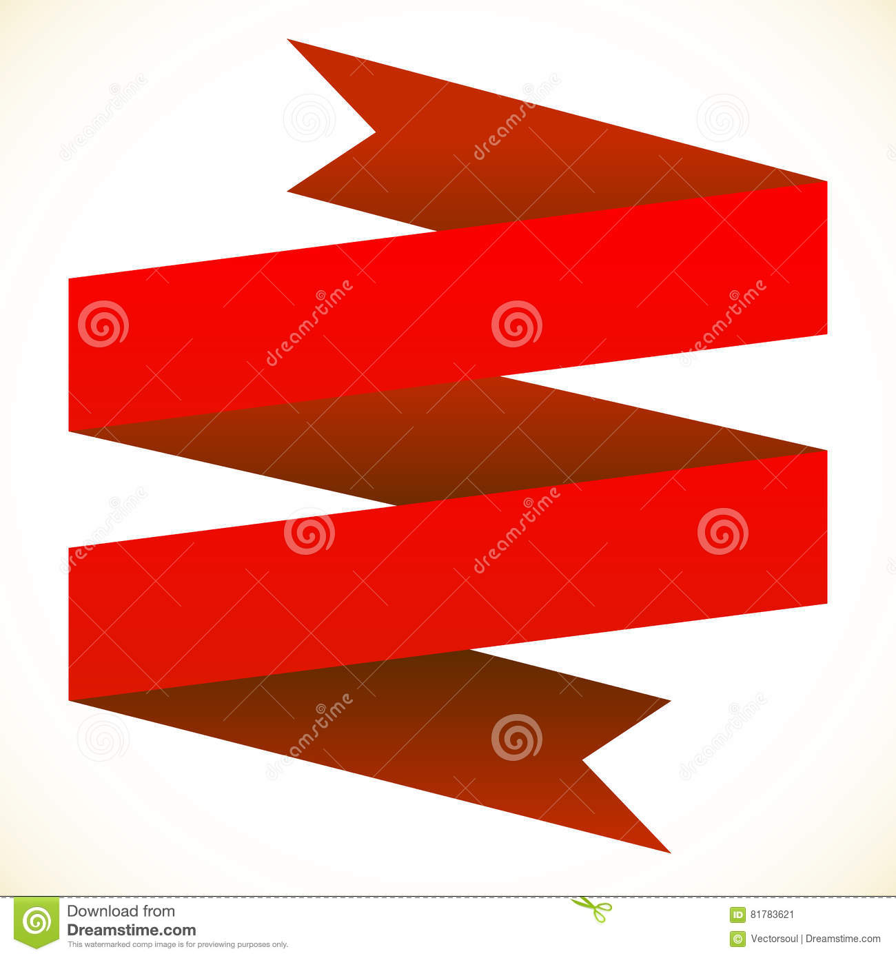 Double Banner Clipart.