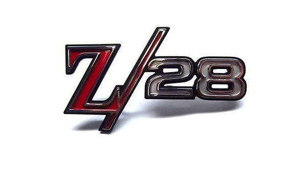 Amazon.com: Chevrolet Camaro Z28 Fender Emblem.