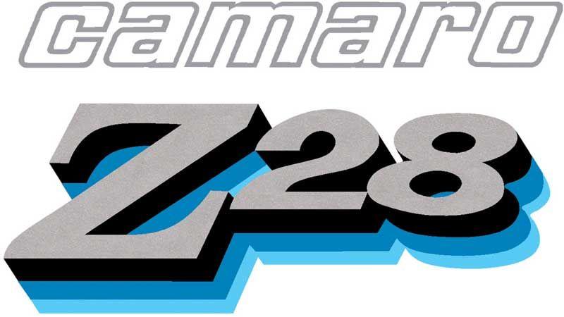Camaro Z28 logo.