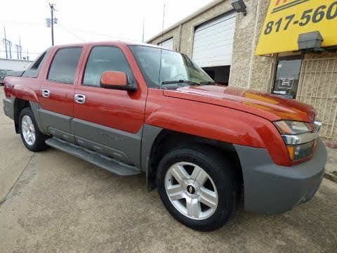 1 Owner, 2002 Chevrolet Avalanche 1500.