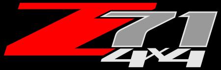Z71 4x4™ logo vector.