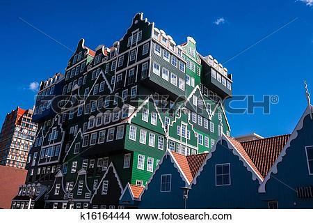 Stock Photo of Architecture in Zaandam, Netherlands k16164444.