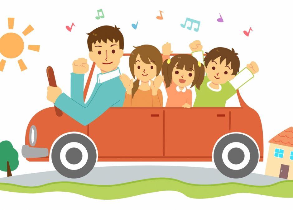Podróż z dzieckiem: zabawy w podróży samochodem.