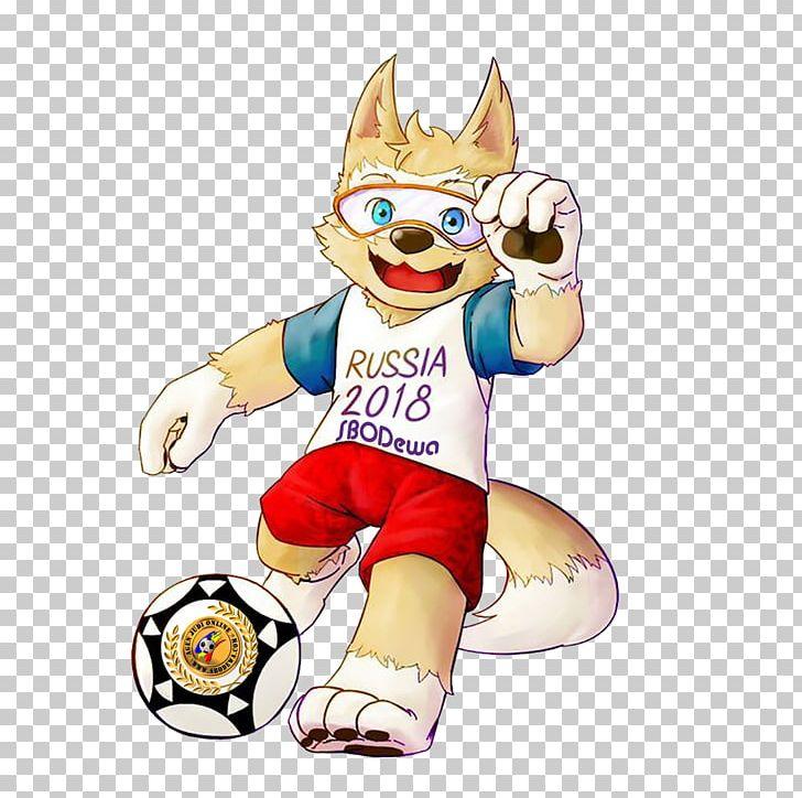 2018 FIFA World Cup Zabivaka Mascot Russia PNG, Clipart.