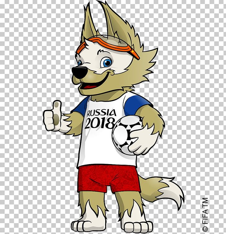2018 FIFA World Cup Russia FIFA World Cup Official Mascots Zabivaka.