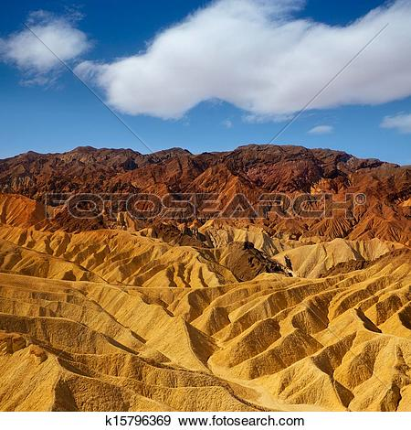 Stock Photograph of Death Valley National Park California.