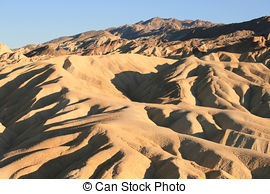 Stock Images of Zabriskie Point Death Valley.