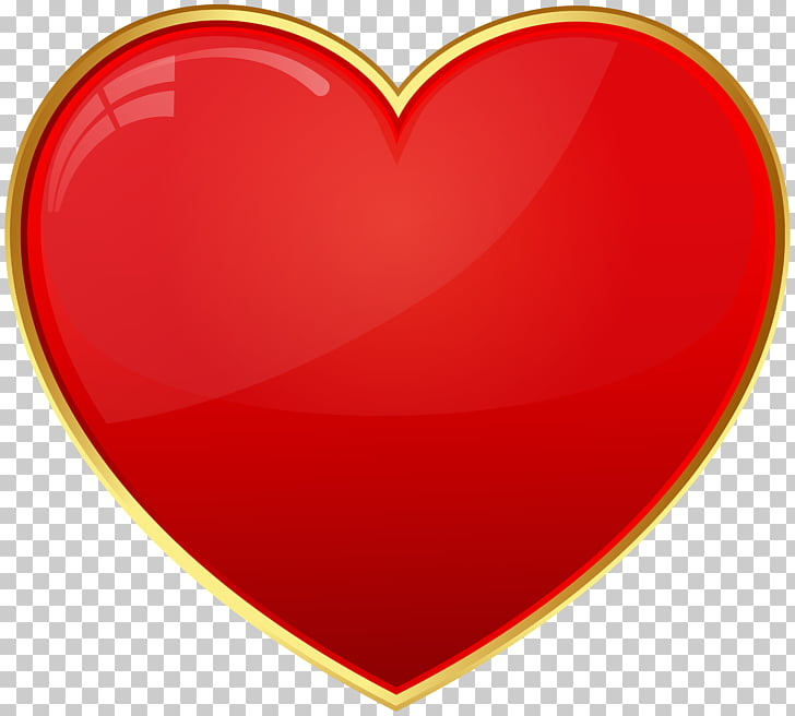 Red Heart Valentine\'s Day Font, Red Heart Transparent , red.