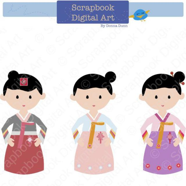 2019 Best Korea Clip Art Images And Outfits.