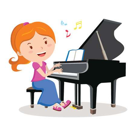 Clipart piano player Transparent pictures on F.