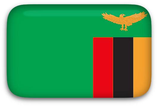 Free Animated Zambia Flags.