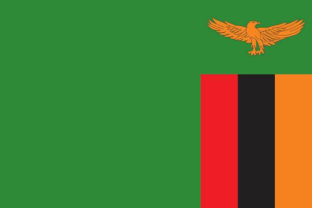 Zambia Flag Clip Art, Vector Images & Illustrations.
