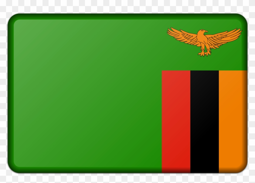 This Free Icons Png Design Of Zambia Flag.