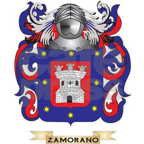 Zamorano Family Crest (Coat of Arms) Pajamas by listing.