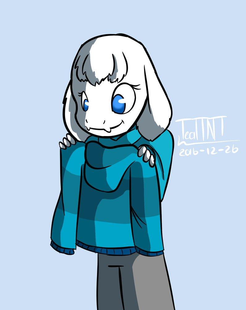 Zam's new sweater by TealTNT on DeviantArt.