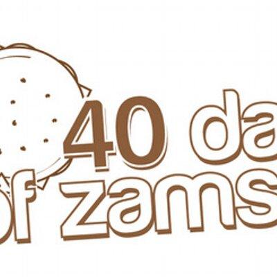 40 Days of Zams (@SpreadTheLove40).