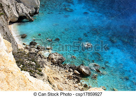 Stock Photo of Plakaki, Zante island, Greece.