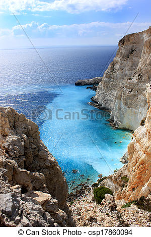 Stock Photographs of Plakaki, Zante island, Greece.