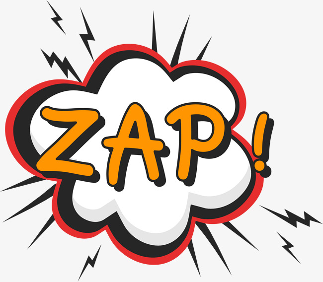 Zap download free clipart with a transparent background.