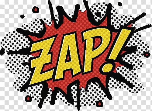 Zap illustration transparent background PNG clipart.