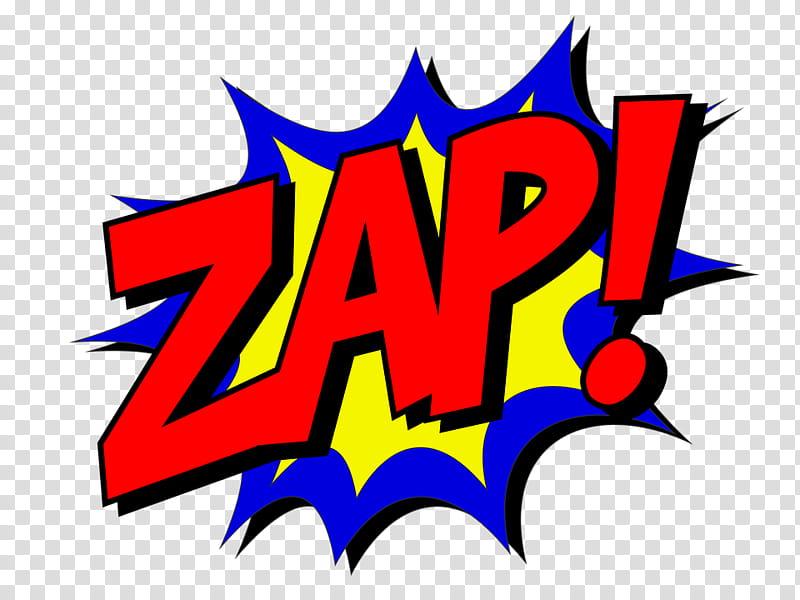 Comic Text, Zap! logo transparent background PNG clipart.
