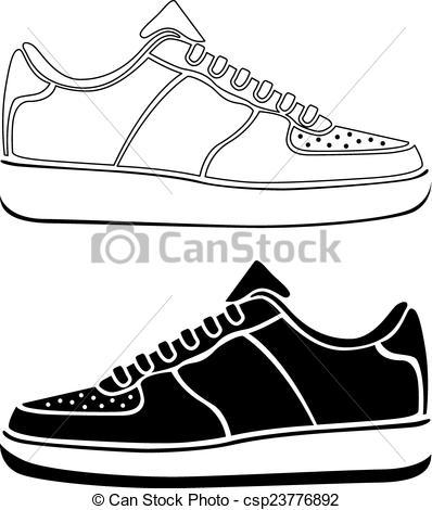 EPS vectores de Funcionamiento, vector, negro, zapato, Activo.