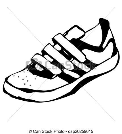 Clipart de zapatillas.
